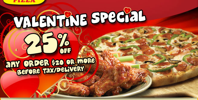 Happy Valentines Day! 25% off any order of $20 or more!